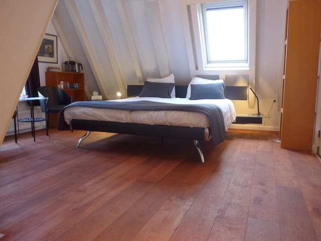 Citycenter, Canal-house, 5 Star, Room+ensuite - Amsterdam - Loft