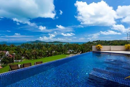 Diamond View -sleeps 24 -seaview great value - Rawai - Villa
