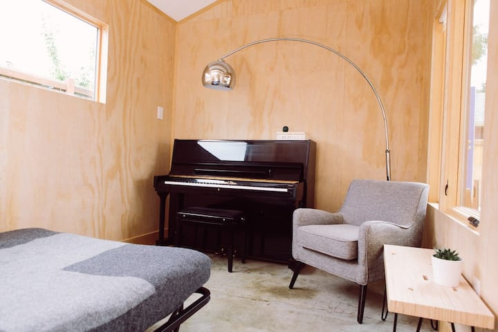 Greenwood Piano Studio - Clean lines & big windows