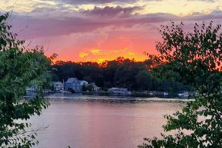 Serenity On Long Pond Massachussetts