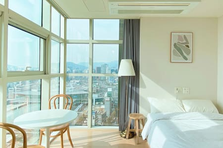 [Seoul Station]premium cozy Place•Nice view•전망좋은집1