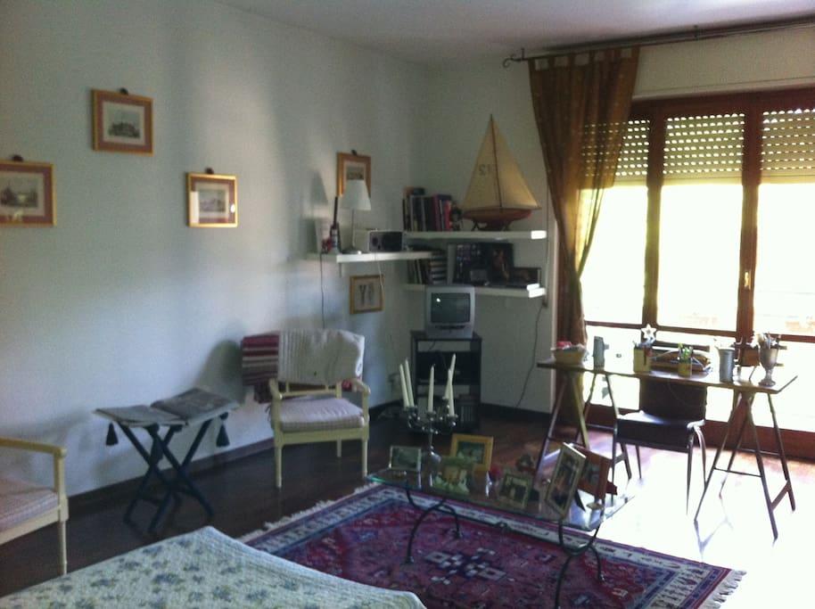 stanza grande e ampia  con relativo terrazzo.