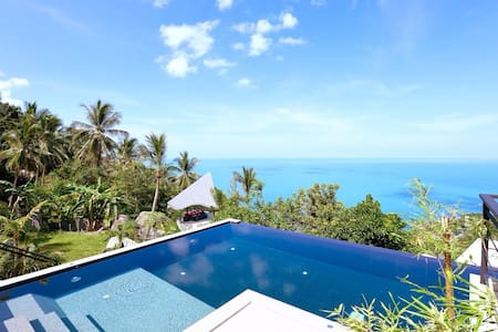 Baan seThai, Lux SeaView Villa 4BR - サムイ島 - 別荘