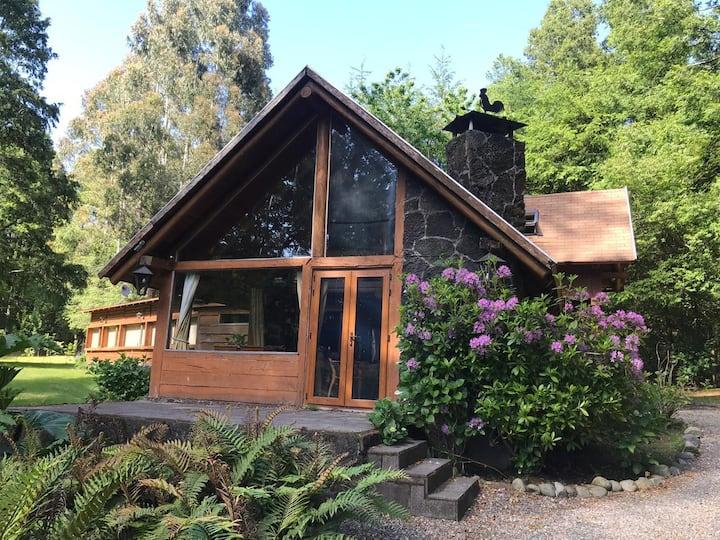 Casa/Parcela full equipada con quincho  y bosque