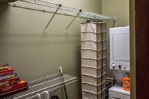Closet/ Laundry