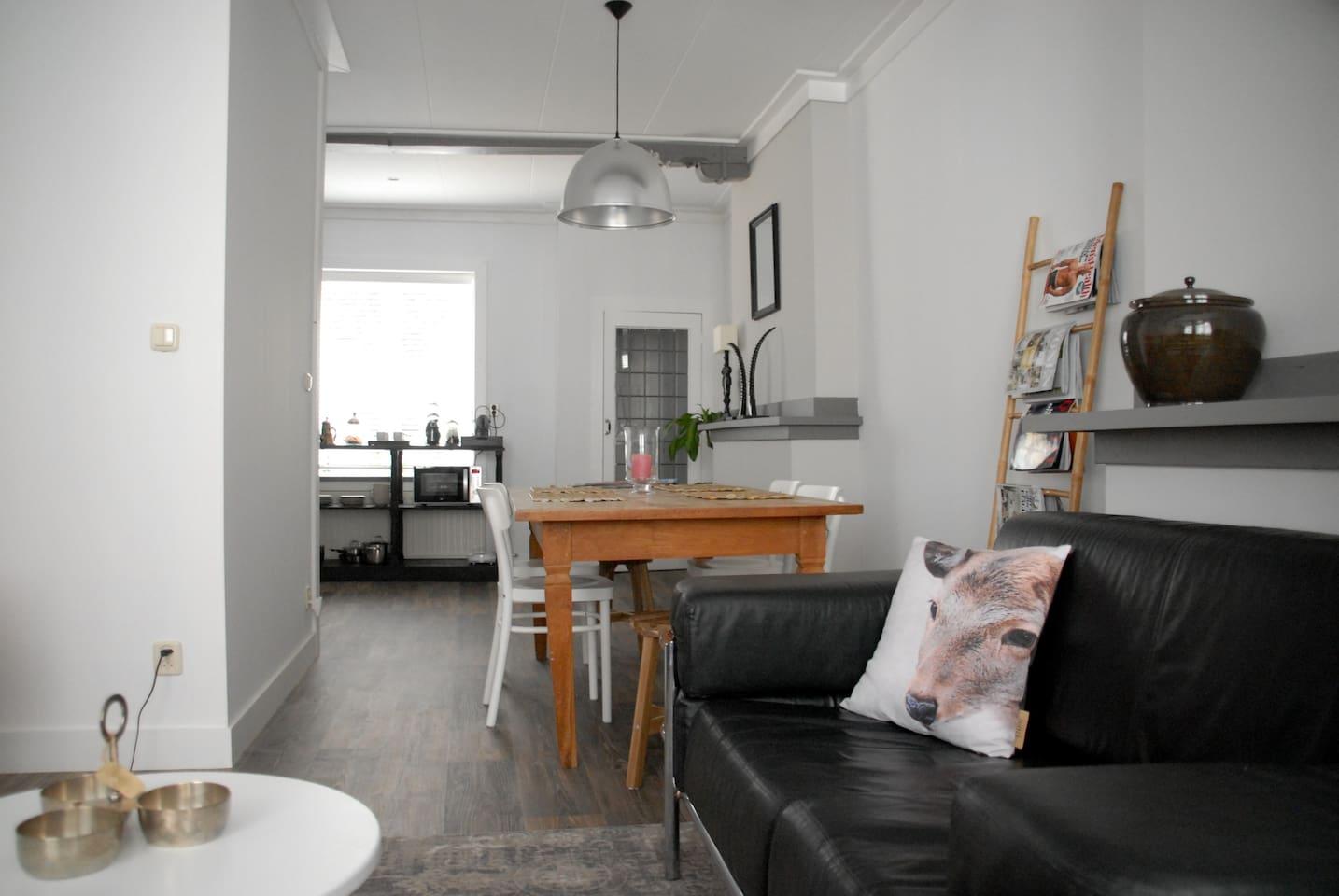 Ruim appartement