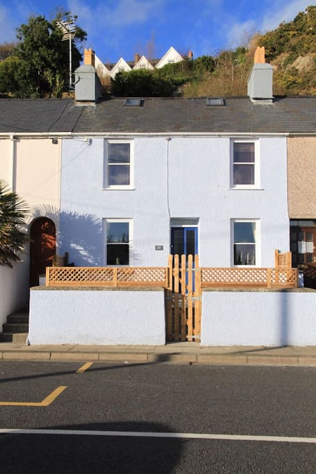 Dolafon is a double fronted fisherman's cottage.