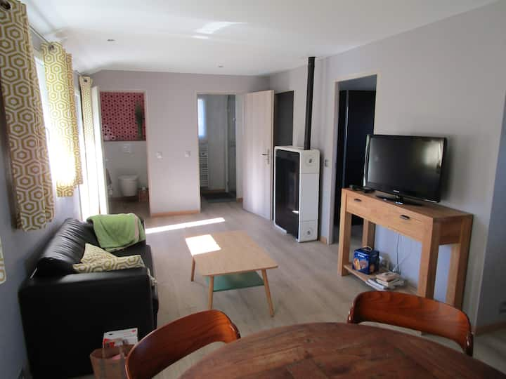 Chalet neuf 2 chambres proche evian vue lac