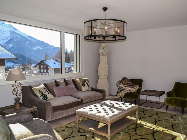 "NEW! Alpine Chic luxury apartment Aletsch Arena ""Alana"" - Fiesch - Pis"