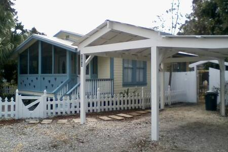 Charming Cottage downtown Micanopy - Micanopy - Bungalov