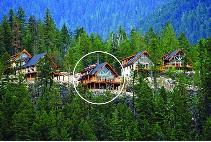Slocan Vista Cabin/Chalet - Slocan - Dağ Evi