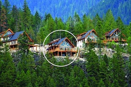Slocan Vista Cabin/Chalet - Slocan - กระท่อมบนภูเขา