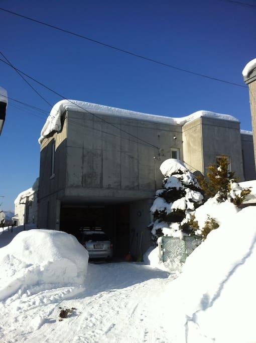 sapporo snow paradise house!