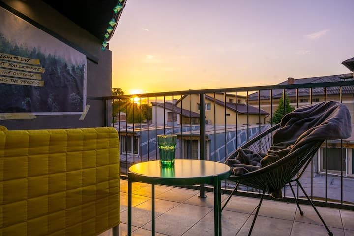 Magnificent Duplex with Open Terrace & Sunset View