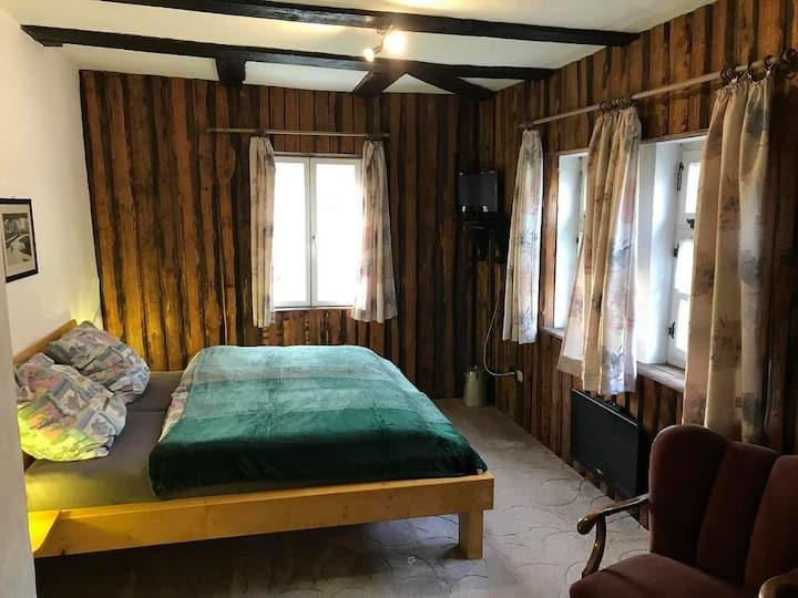 Ferienwohnung Gottsbüren (Trendelburg-Gottsbüren) -, 1 Doppelzimmer mit Dusche und WC