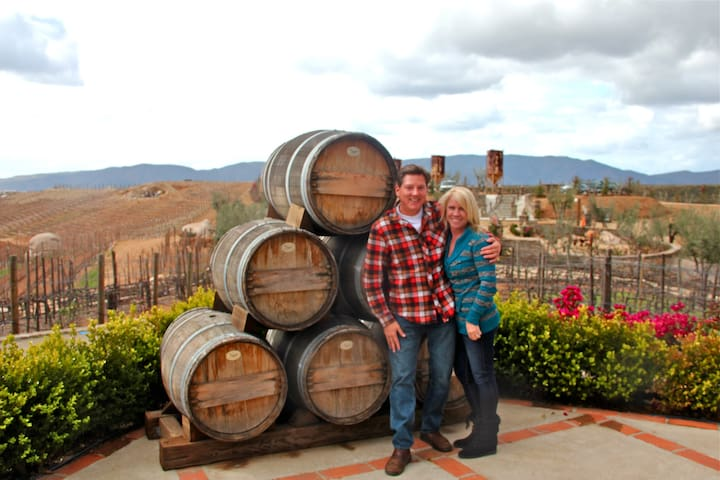 We are 30 minutes from the Baja Wine Country. Short drive out to taste some of Baja's great amazing wine's. See NY Times article on Baja Wine Country.