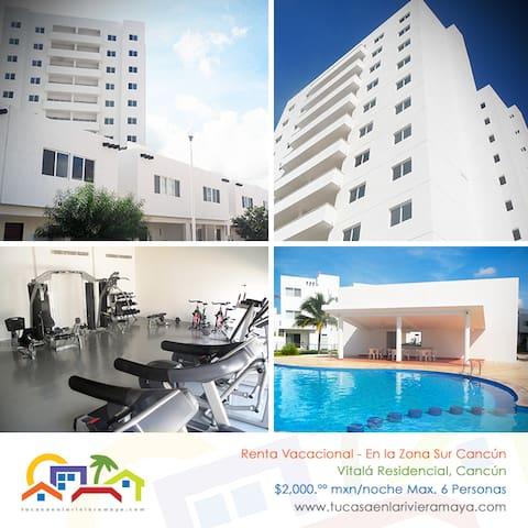 Apartment VIP, Cancun - Cancún - Huoneisto