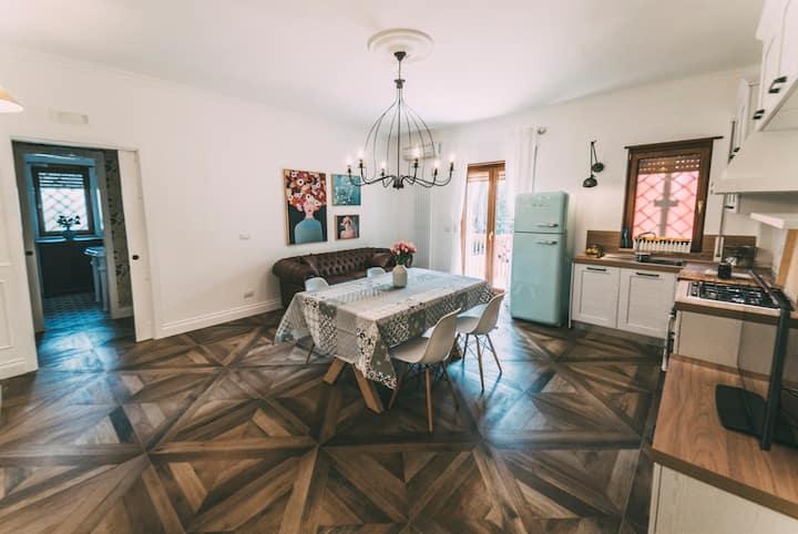 Apartment in Bari near the sea and airport + WIFI
