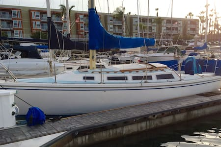 Cozy boat near Beach, Abbot Kinney, - Marina del Rey - Boot