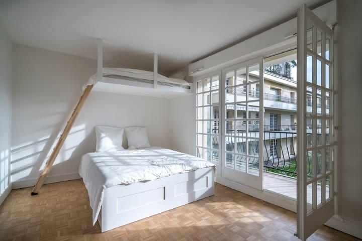 Appartement 3 voyageurs Paris