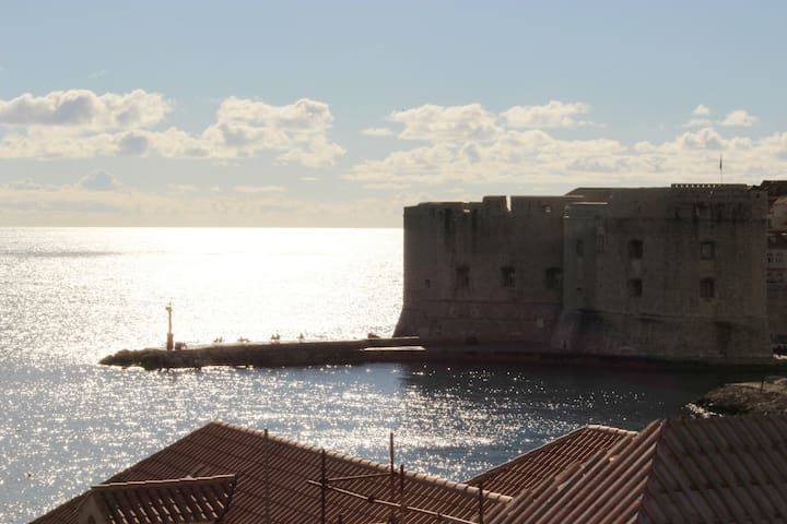 Double Room with City and Sea View - Dubrovnik - Dům