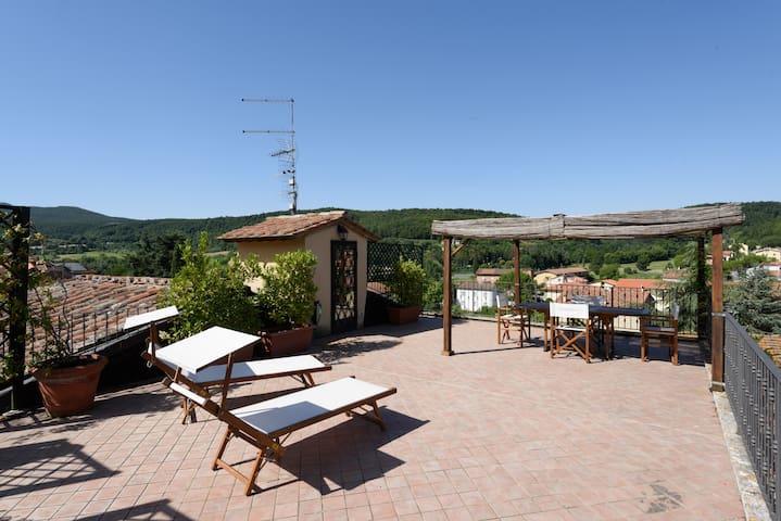TuscanyAmelie: borgo e acque - Sarteano - อพาร์ทเมนท์