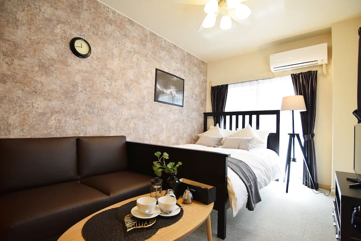 5 mins to Station! Luxury Apt #2M10 - Shinjuku-ku - Apartamento