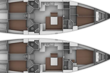 l'emozione di dormire in barca    - Policoro - Båt