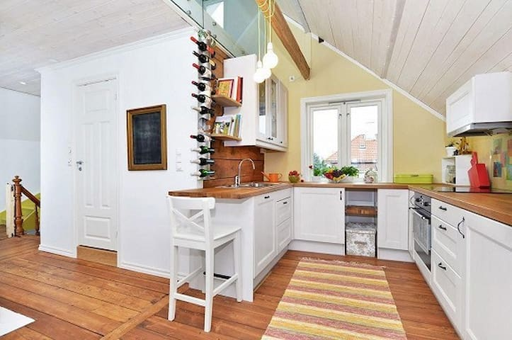 Charming close to city apt for long term rent