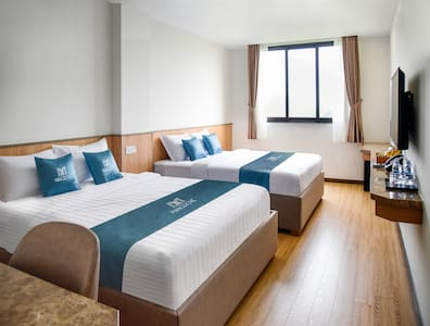 Standard Two Double Bed, Room 1 - Mangrove Can Gio