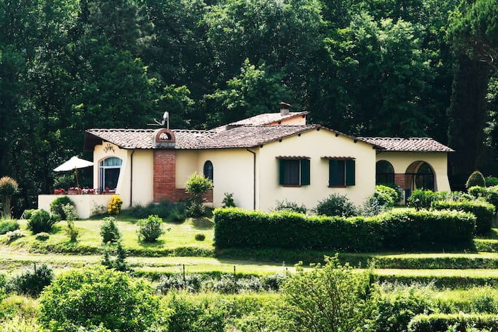 Detached villa with pool . - San Macario In Piano , Lucca - วิลล่า