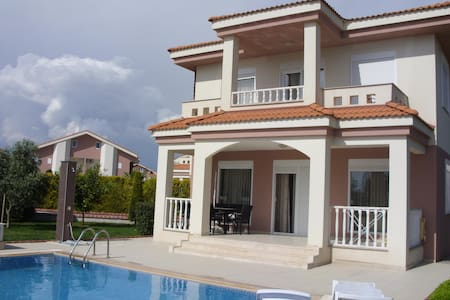 Luxury Villa near Side with Pool - Side - Huvila