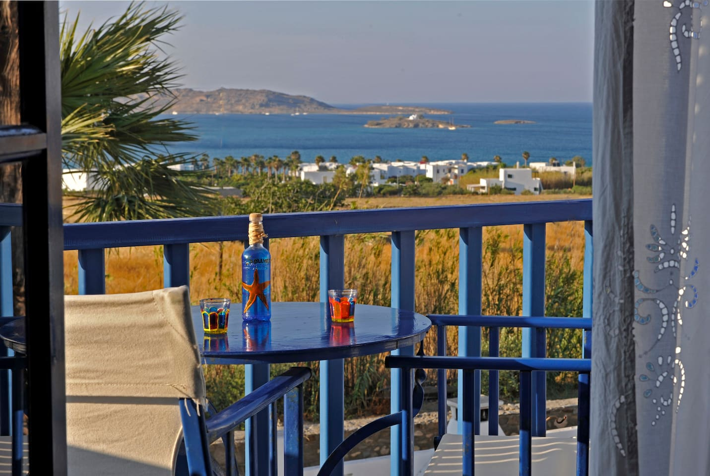 Enjoy your afternoon drink with magnificent sea view