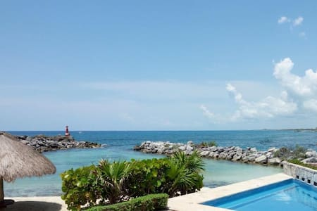 Spectacular Apartment Beach Front Best location