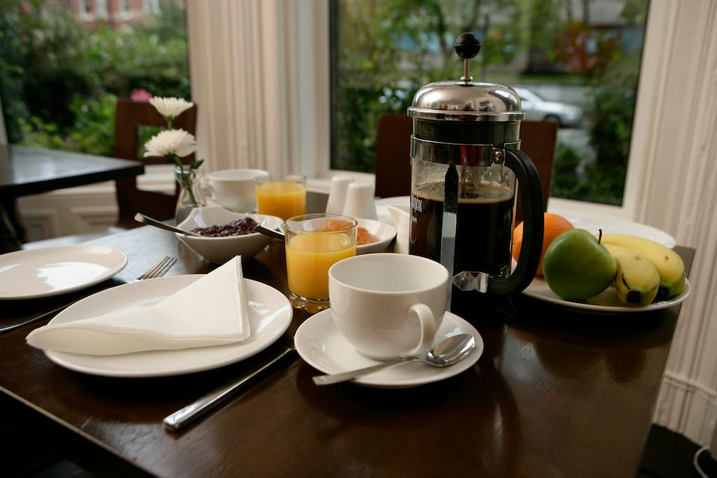 Don't feel like cooking ? why not let us make your breakfast in the guest house next door.
