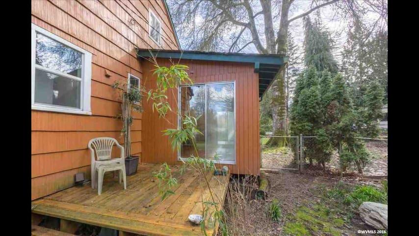 One bedroom retreat in quiet, rural Corvallis. - Corvallis - House