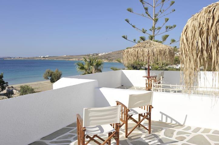 Beach Studios - Panoramic Sea View - Paros - Byt