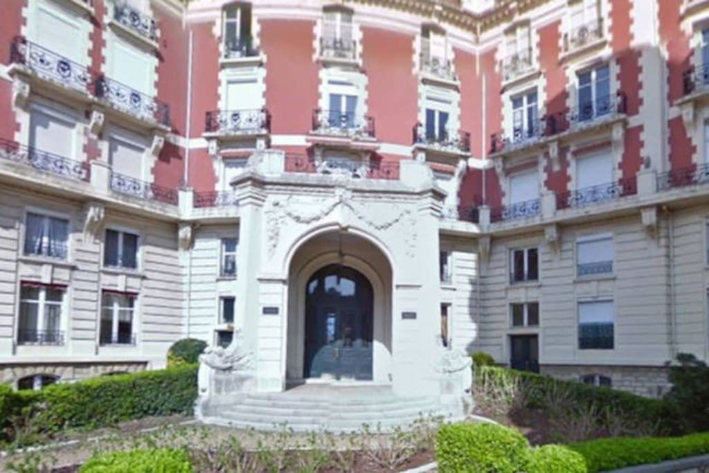 façade d'entrée