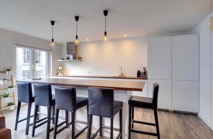 Top location private city centre apartment Utrecht