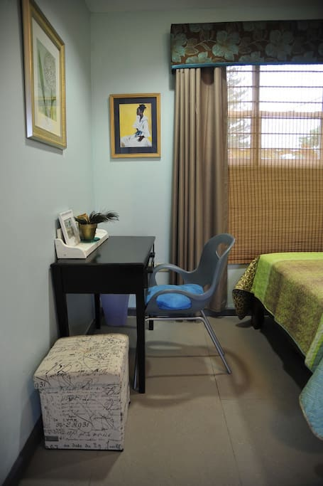 A place to relax or conduct business. WiFi available