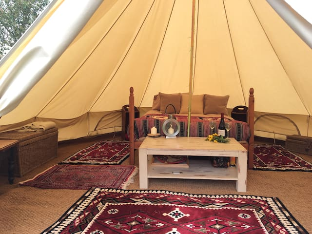 Milky Moon 2 Luxury Bell Tent