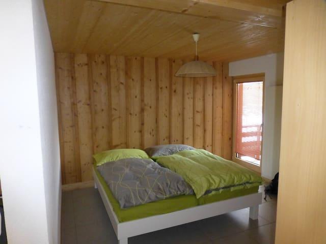 studio de 45 m2 dans belle maison - Salvan - Apartemen