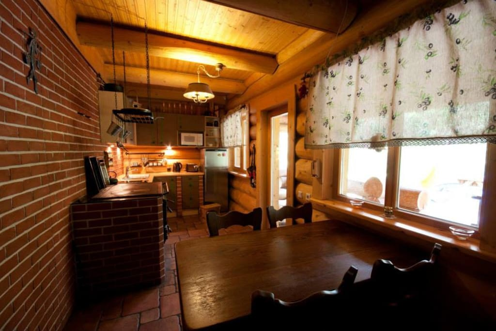 Open planned kitchenette