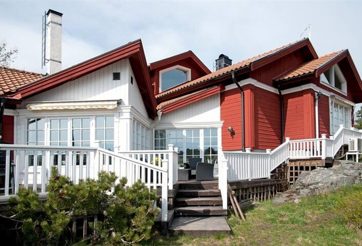 Skärgårdshus med fantastisk utsikt - Vaxholm