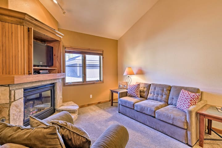 NEW! Ski-In/Ski-Out Breckenridge Condo w/ Hot Tub!
