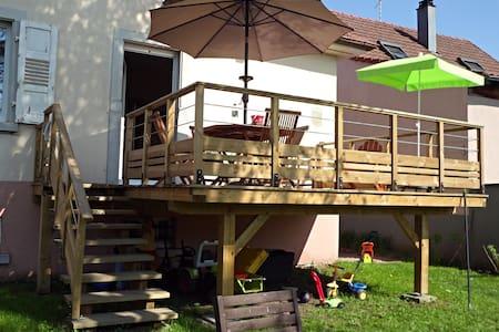 Chambre dans maison familiale  à Colmar + vélos