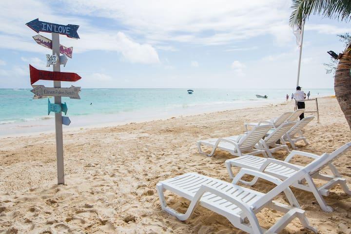 Suite para 4 en la playa!