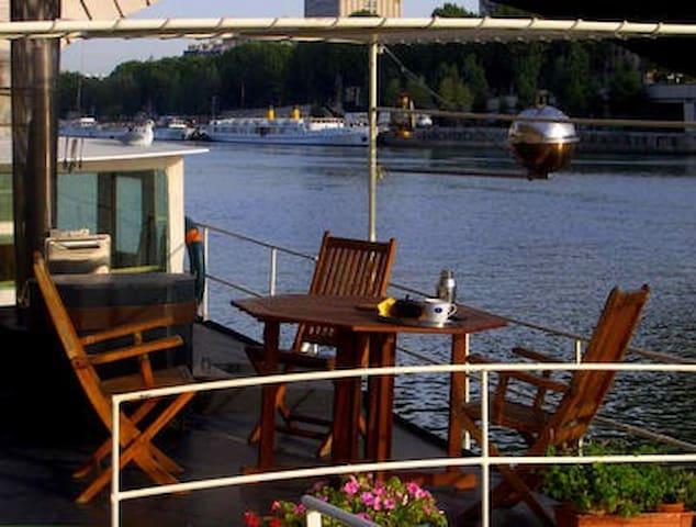 PRIVATE HOUSEBOAT  HEART  PARIS  - Paris - Boat