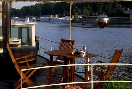 PRIVATE HOUSEBOAT ♥ HEART ♥ PARIS  - Parigi