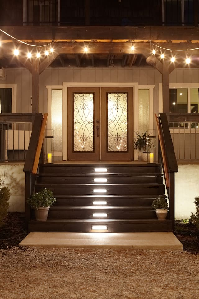 Main Double Door Entrance To The Chalet